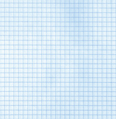 Detailed blank blue math paper pattern
