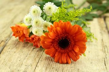 fond bouquet de fleurs