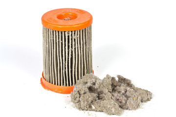 Dirty filter vacuum cleaner