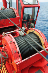 Rope sling,used in hard work or crane operation job