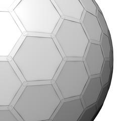 geometric sphere, honey comb grid