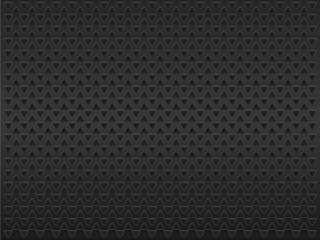 Black triangles on dark background