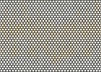 metal grid backgrounds with round cell
