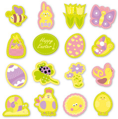 Happy Easter- decorations  set for children