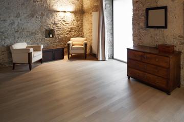 comfortable loft furnished