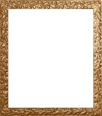 Antiker Fotorahmen in Sepia