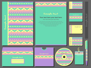 Corporate style. 11 various templates.