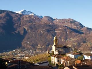Bellinzona, the Church of Artore