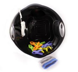 Black wash bowl