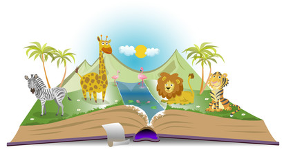 Book about wild animals