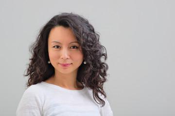 Female asian smiling