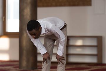Humble Afro Muslim Prayer