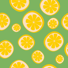 seamless background with limon