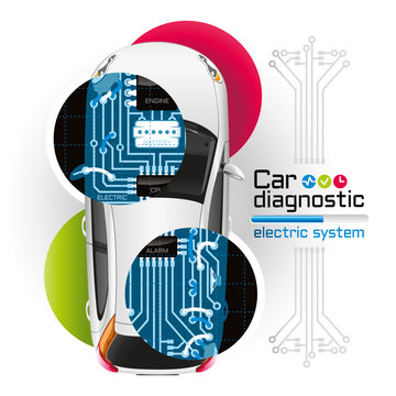 X-ray Car Diagnostic of Electric System