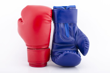 Fototapeta Boxing gloves close up obraz