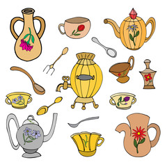 kitchen vector objects
