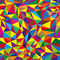 Geometrical seamless pattern with triangles
