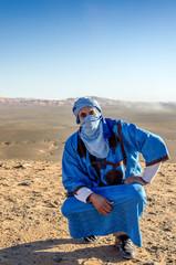 Tuareg, Sahara desert, Morocco
