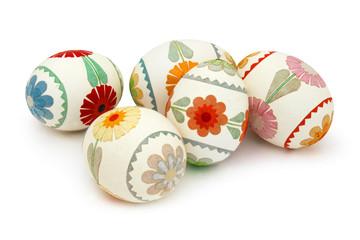 Œufs de Pâques décorés - Pisanki