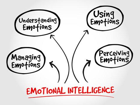 Emotional Intelligence mind map business management strategy