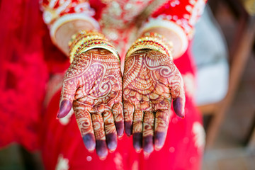 henna wedding design