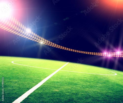 """Stadium In Lights And Flashes: """"stadium In Lights And Flashes"""" Photo Libre De Droits Sur"""