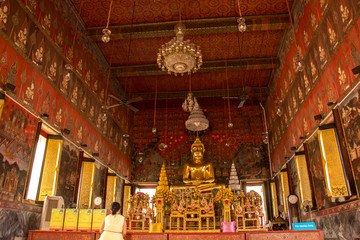 Temple, Thailand, churches, pagodas, golden, calm place, Thailan
