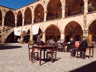 Türkische Männer in Nikosia