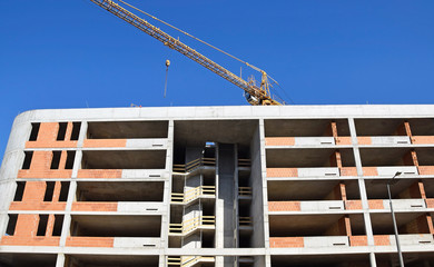 Construction of a new high building