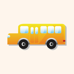 school bus theme elements