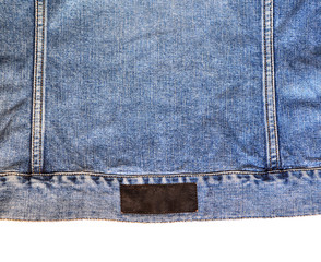Texture of jeans coat