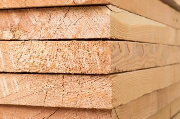 Tavole di legno - Wooden boards Fotobehang