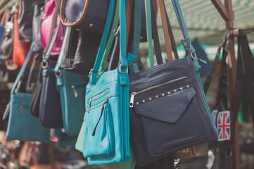 Bags at a market