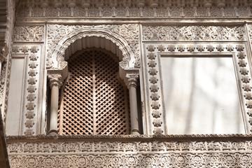 Fototapete - Patio de las Munecas en el Real Alcazar de Sevilla, Spain