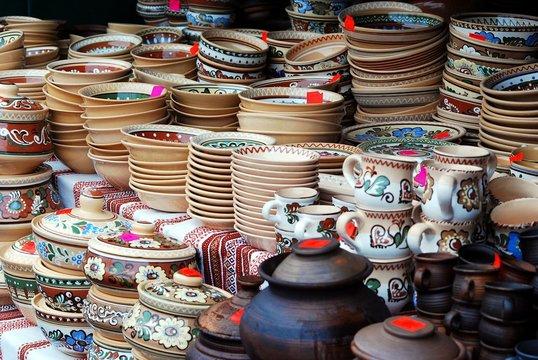 Vilnius city in annual traditional crafts fair: Kaziukas fair