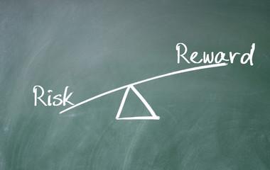 reward and risk concept