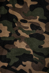 Texture of a camouflage