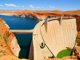 Printed kitchen splashbacks Dam Glen Canyon Dam