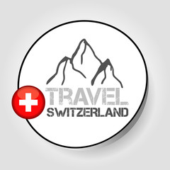 Icon travel switzerland