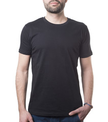 timeless clothing template classic black shirt
