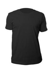 Black shirt template