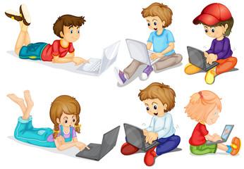 Children and computer