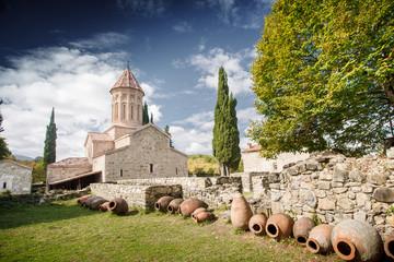 Georgia monastery wine