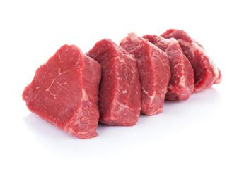 Deurstickers Vlees Fillet steak beef meat