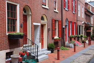 Old Philadelphia - Elfreth's Alley