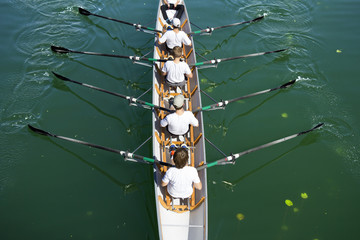 Boat coxed four
