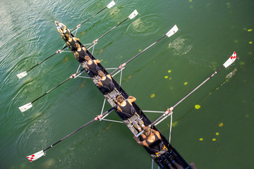 Boat coxed eight