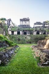 Mayan Ball Court at Tikal, National Park. Traveling guatemala, c
