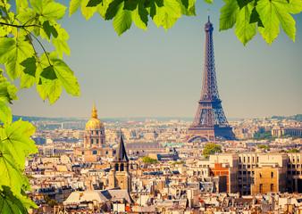 Aluminium Prints Paris Eiffel Tower