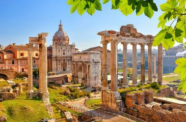 Canvas Prints Rome Roman ruins in Rome, Forum
